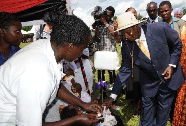 Uganda rolls out the Pneumococcal Conjugate Vaccine (PCV ...