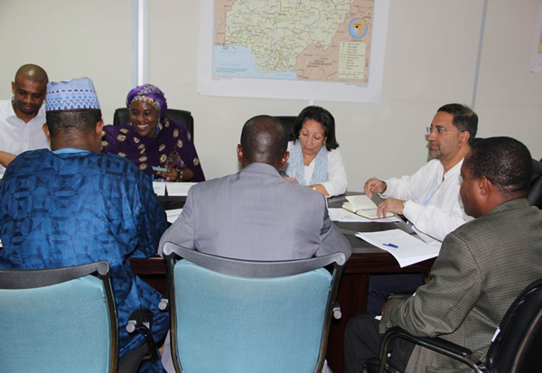 06 WHO convenes a meeting of Unicef and Government Partners to discuss way forward with Health Commissioners from scurity compromised States of Borno and Yobe