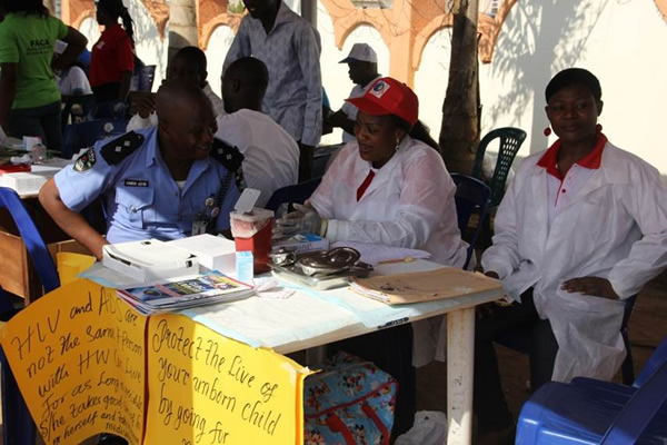 09 HIV Counseling and Testing Centre during the 2013 WAD