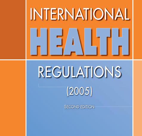 International Health Regulations (2005) | Regional Office for Africa