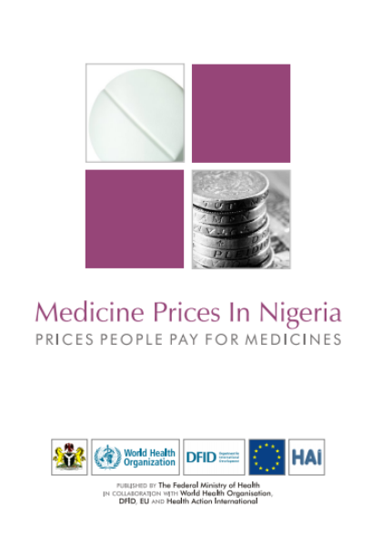 Medicine Prices in Nigeria - Prices People Pay for Medicines