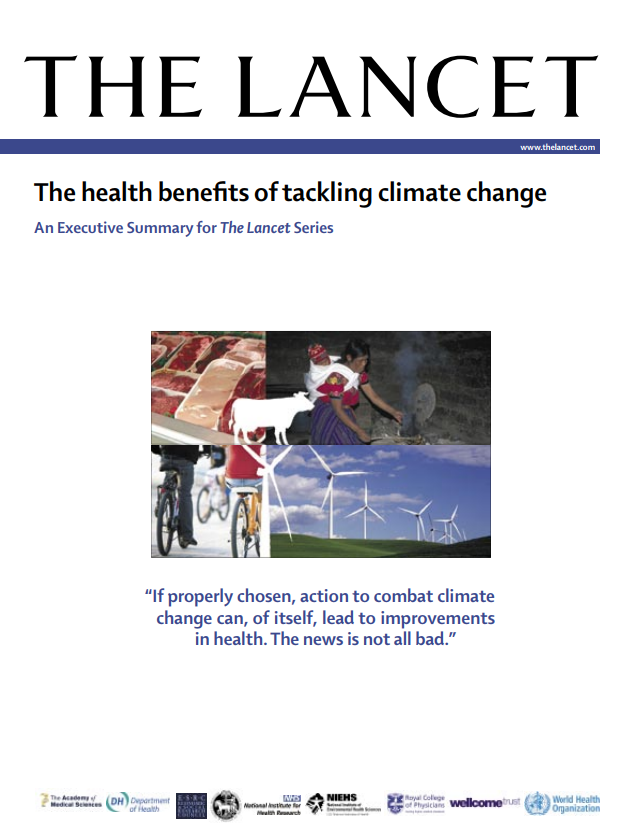 The health benefits of tackling climate change