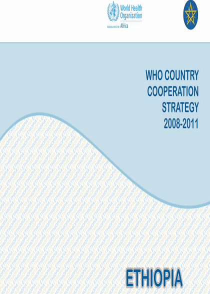 Ethiopia Country Cooperation Strategy 2008-2011