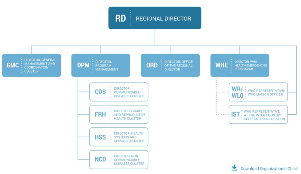 Organizational Structure | Who | Regional Office For Africa