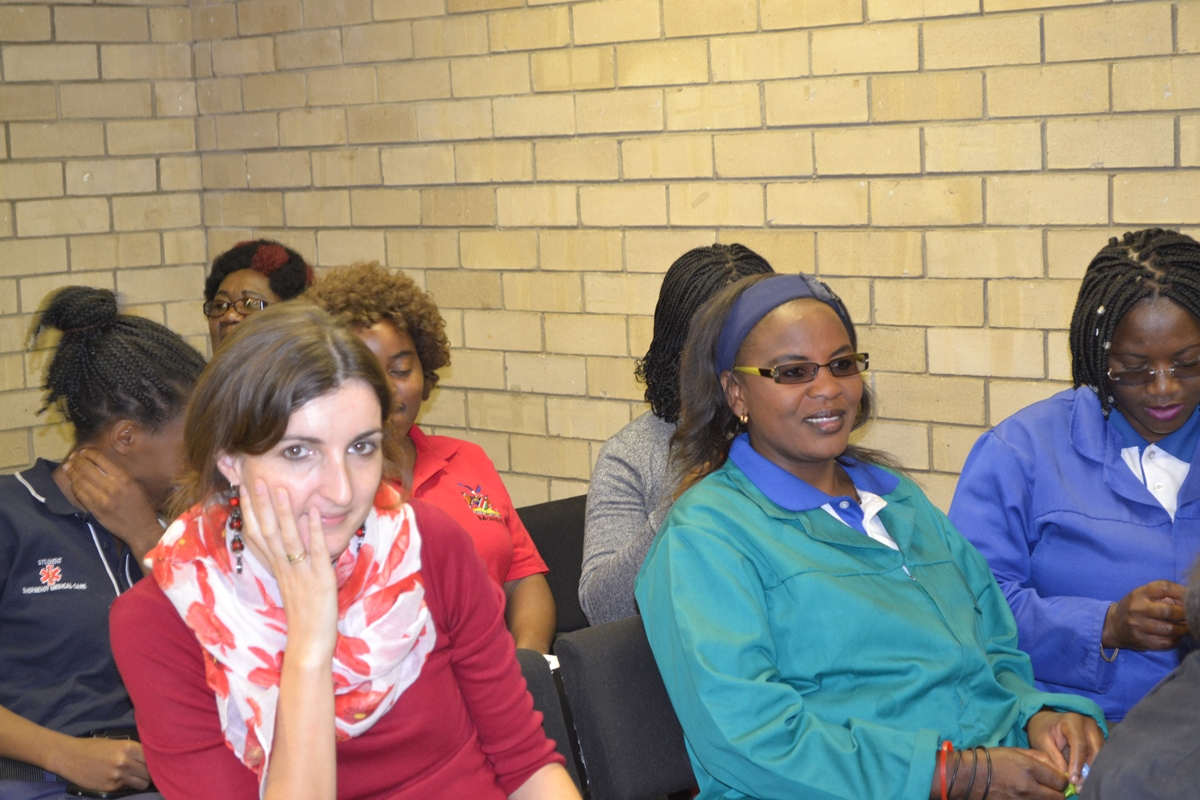 Mrs Rachel Coomer from CDC Namibia at the World Mental Health Day