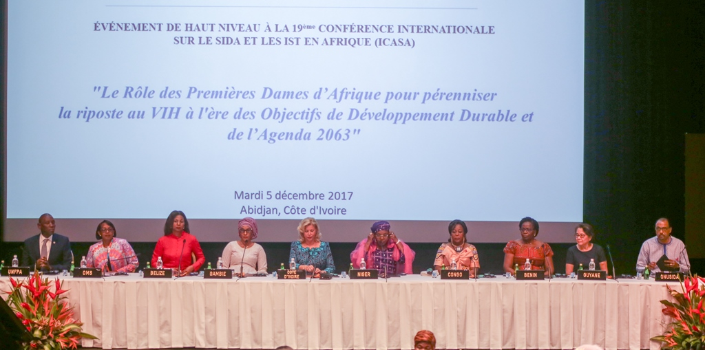 The special session on the role of the Organization of African First Ladies against HIV and AIDS (OAFLA) in Ending Mother-to-Child Transmission of HIV
