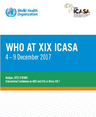 WHO at ICASA 2017
