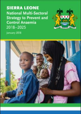 National Multi-Sectoral Strategy to Prevent and Control Anaemia (2018-2025)