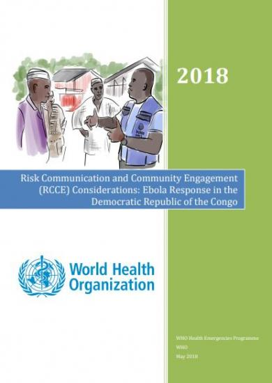 Risk Communication and Community Engagement (RCCE) Considerations: Ebola Response in the Democratic Republic of the Congo