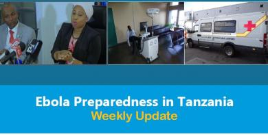 Weekly Update on Ebola Virus Disease (EVD) Preparedness in Tanzania