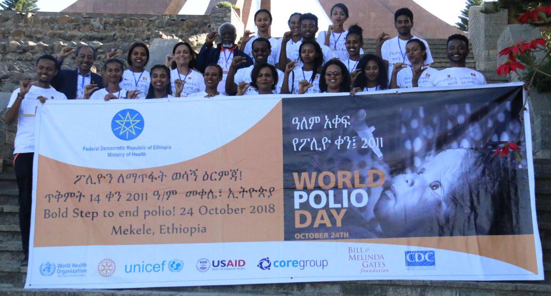 World Polio Day partial participants