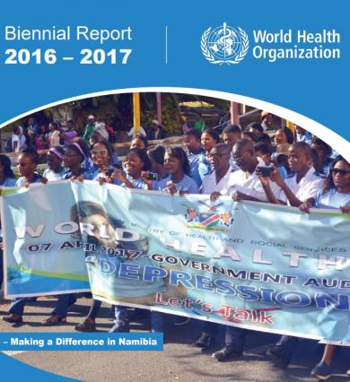WHO Namibia Biennial Report for 2016-2017