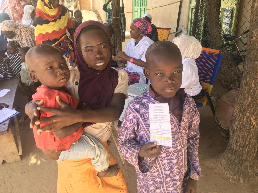 Niger vaccinates 152,000 people against cholera in high-risk areas