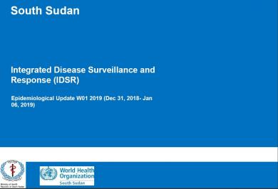 South Sudan IDSR Bulletin