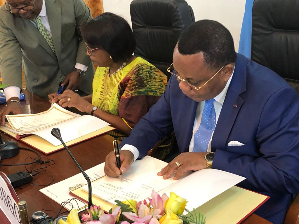Bilateral ties between WHO African Regional Secretariat and Republic of Congo gets a significant boost