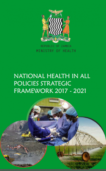National Health in All Policies Strategic Framework 2017-20121