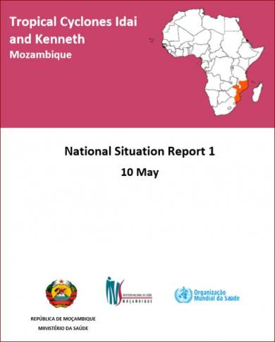 Cyclones Idai and Kenneth Mozambique - National Situation Report 1
