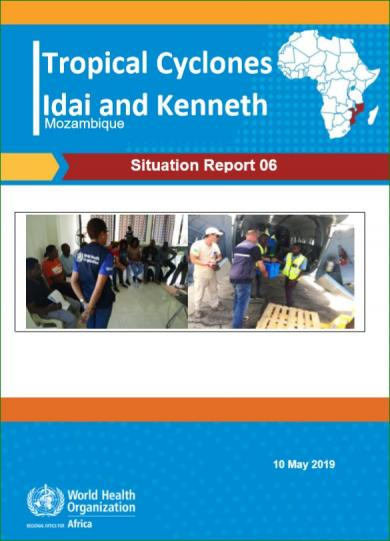 Mozambique Situation Report 6 - cover