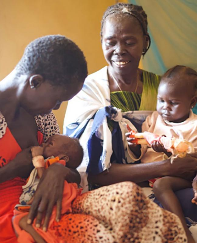 In South Sudan Grandmothers Breastfeed Malnourished Grandchildren Who Regional Office For Africa