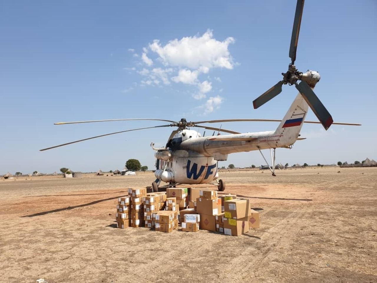WHO delivers assorted lifesaving medical supplies to Mayom County in the Greater Unity Region to support flood affected communities.
