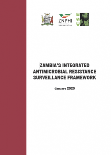 Zambia's Integrated Antimicrobial Resistance Surveillance Framework