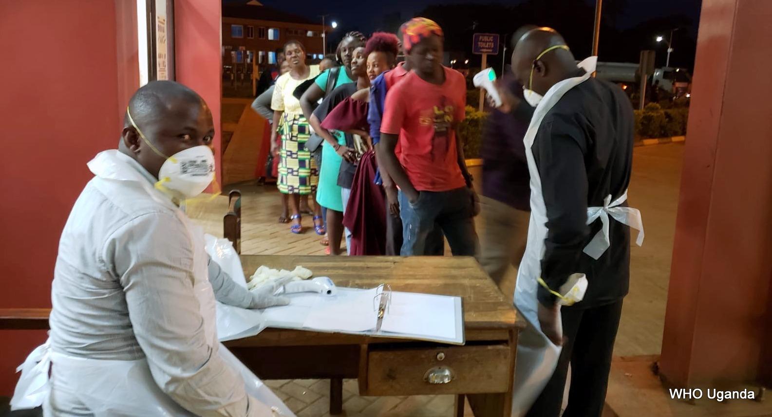 Coronavirus in Uganda