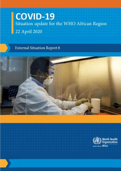 Situation reports on COVID-19 outbreak - Sitrep 08, 22 April 2020