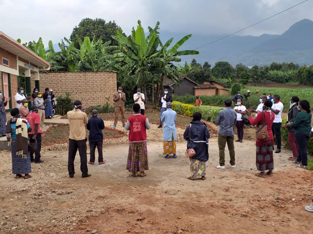 Opening ceremony of the MCH Week in a village in Rubavu District
