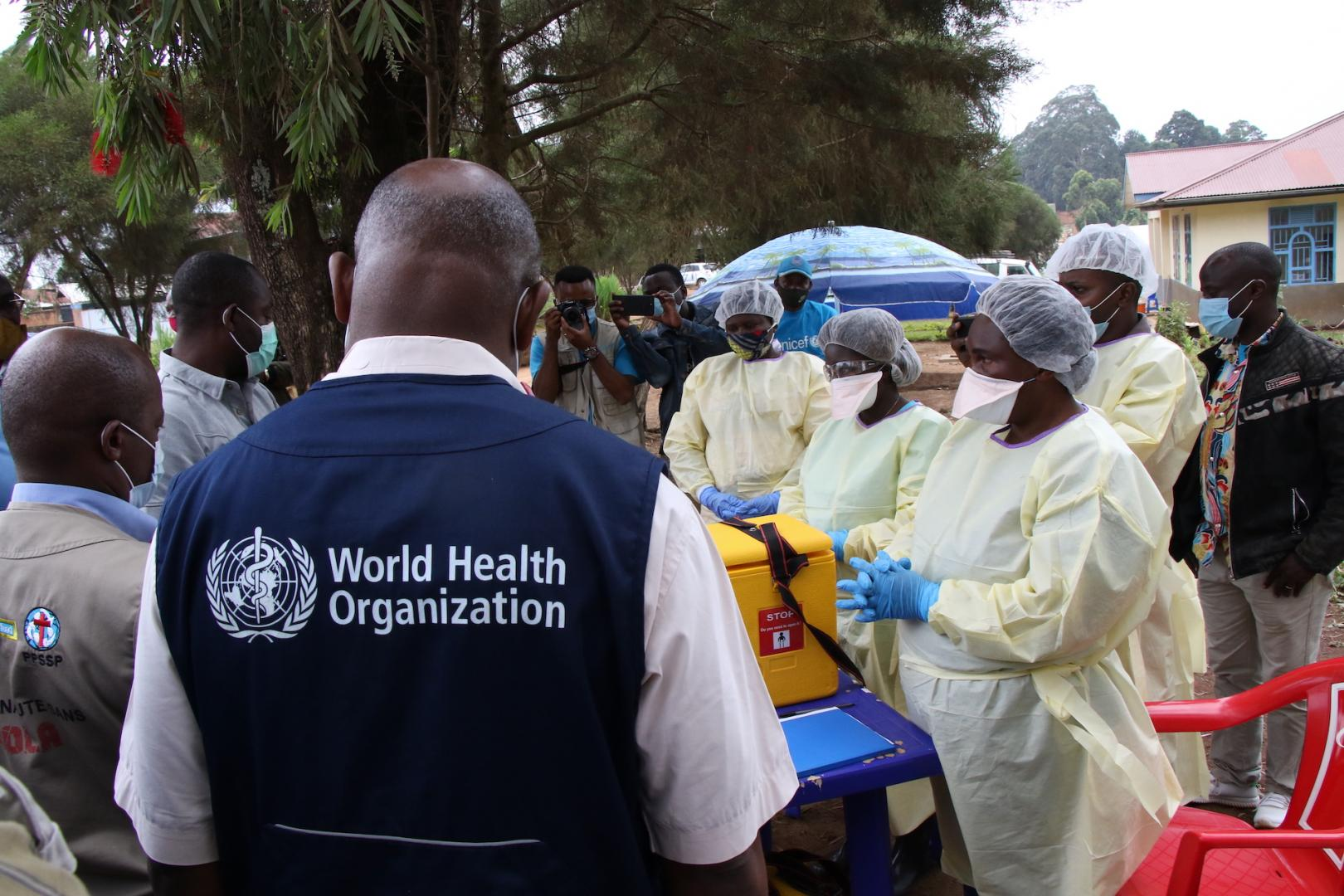 WHO steps up efforts to curb Ebola outbreaks in Guinea and the Democratic Republic of the Congo