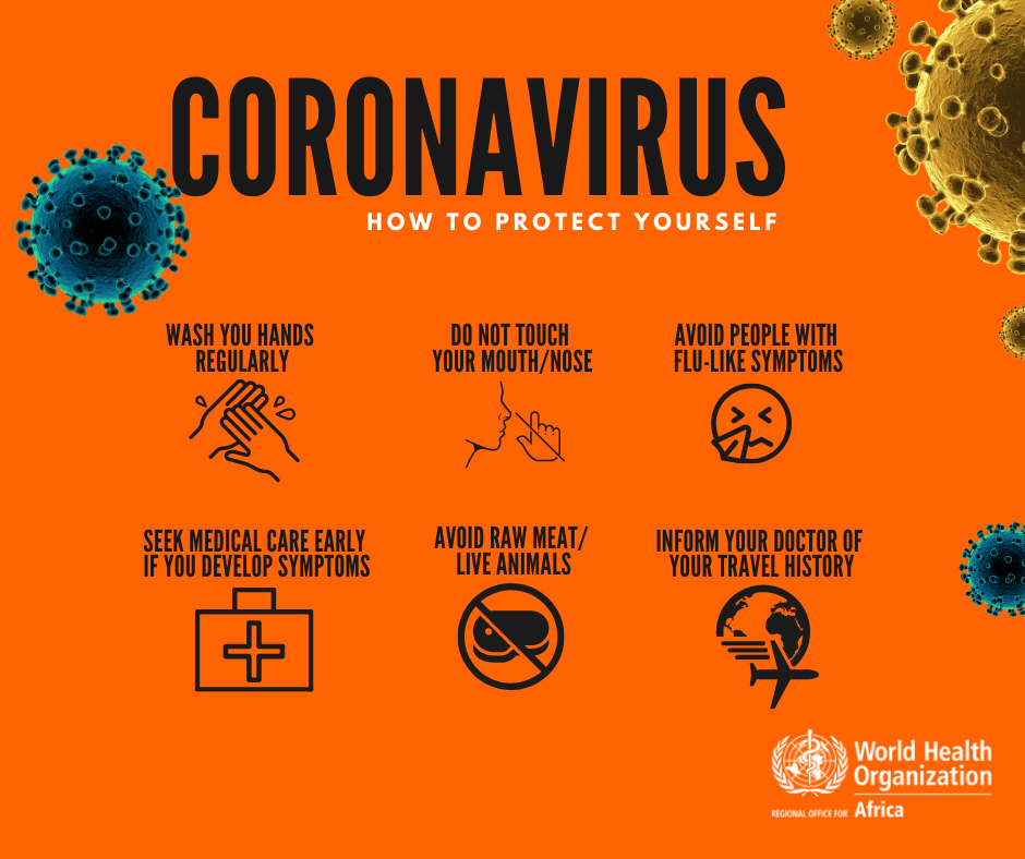 Coronavirus (COVID-19) | Regional Office for Africa