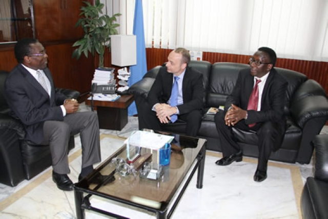 Official visit of mr manuel fontaine unicef regional director for