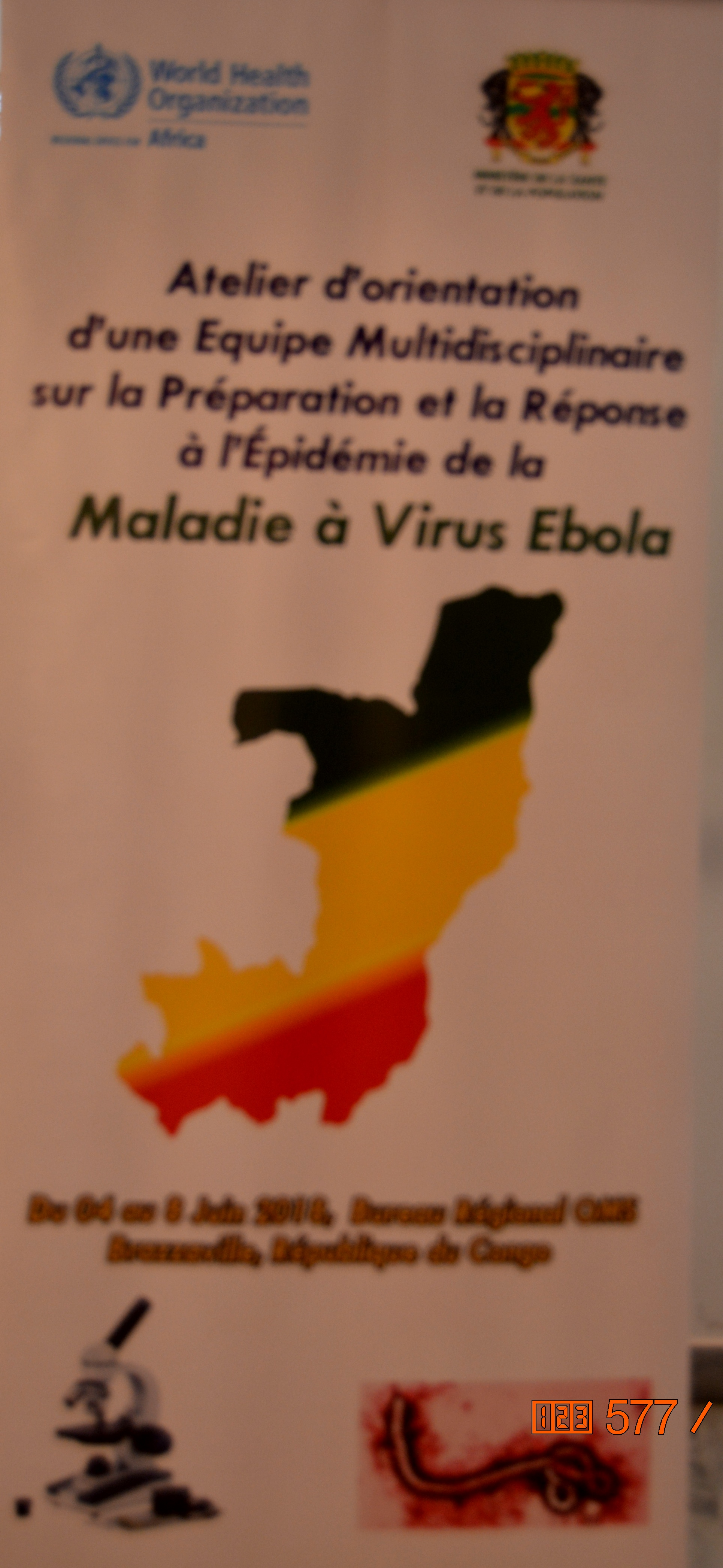 Preparing for and Responding to the Ebola Virus Epidemic 04 to 08 June 2018  Brazzaville