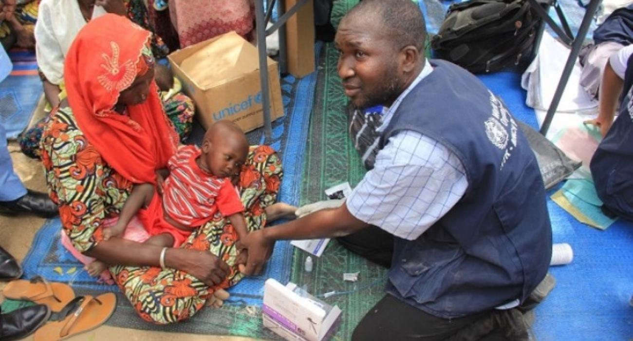 Mobile teams deliver healthcare to more than 400 000 in remote areas of north-eastern Nigeria