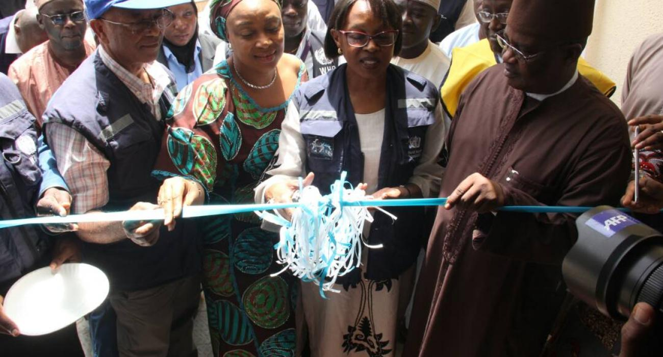 Dr Moeti commissioned the Humanitarian Emergency Operations Centre
