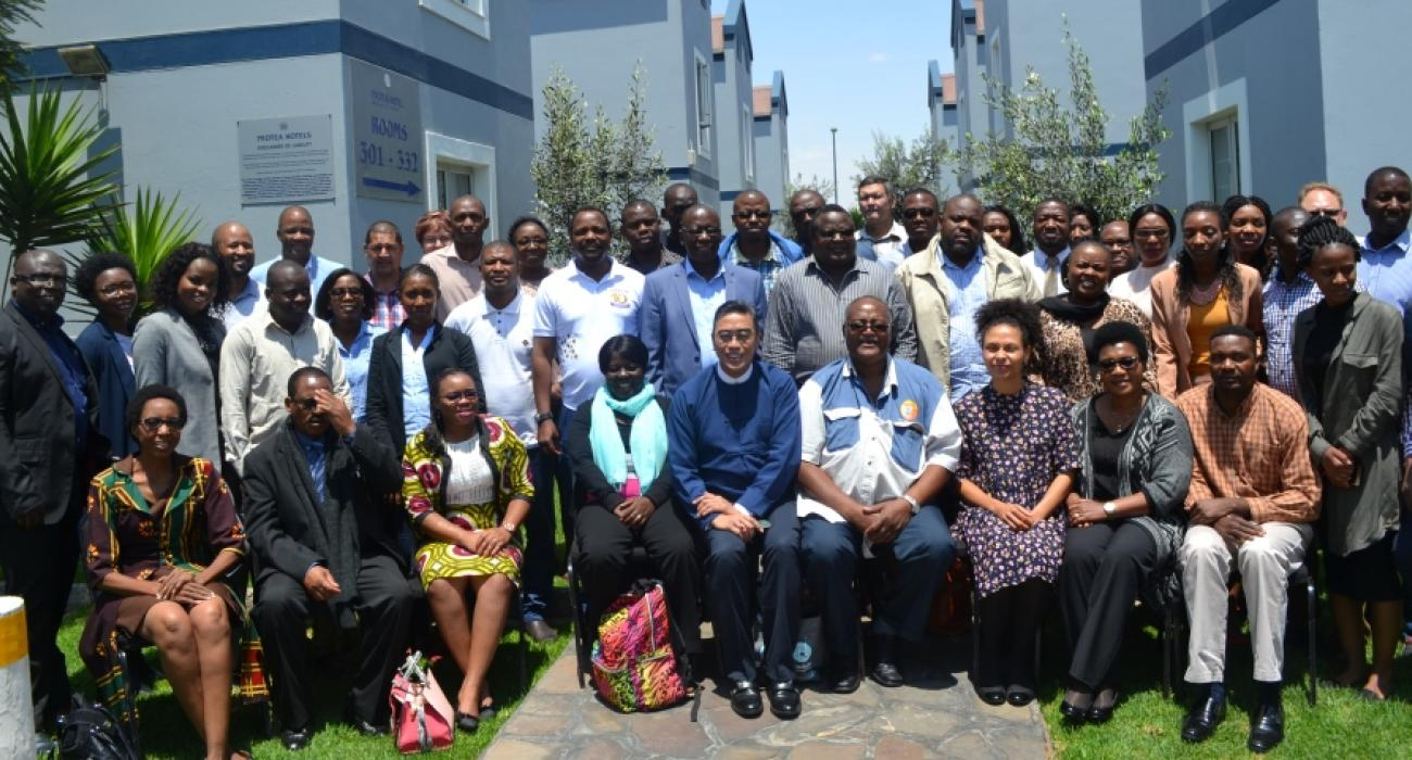 Participants at the workshop to finalise the National Action Plan on Health Security for Namibia