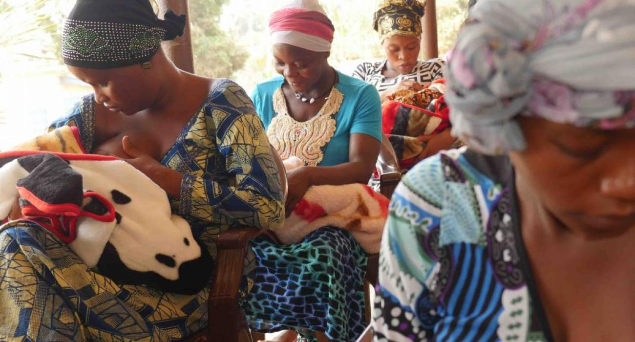 The BFHI aims to promote an enabling environment and support new mothers in breastfeeding