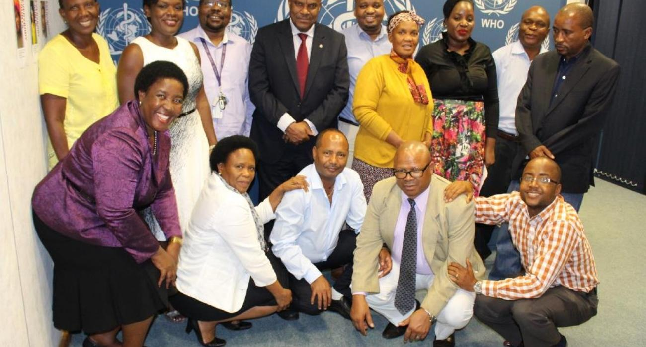 WCO Botswana team and the ToC Facilitator