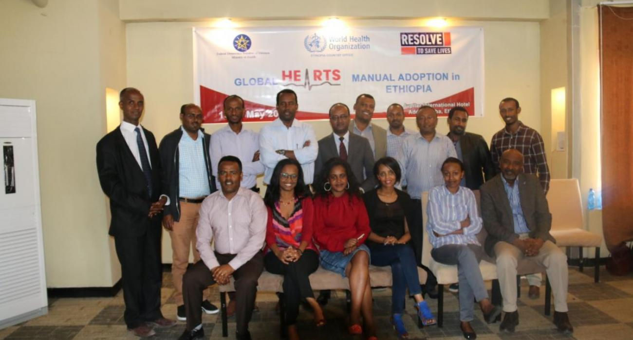 Global HEARTS' Manual Adoption workshop participants
