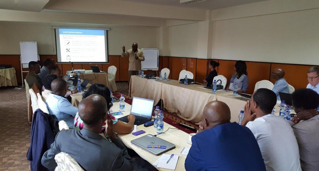 WCO Ethiopia attending training on Theory of Change
