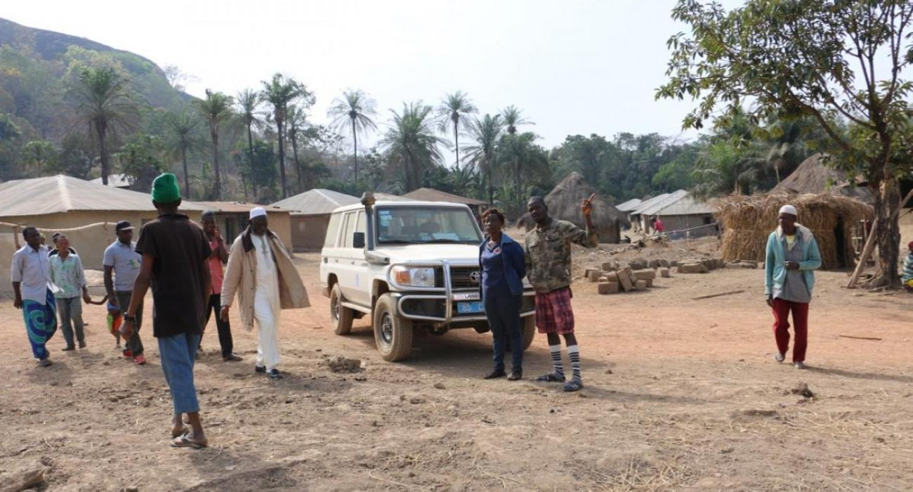 The response is taking place in some of the most remote areas in Sierra Leone