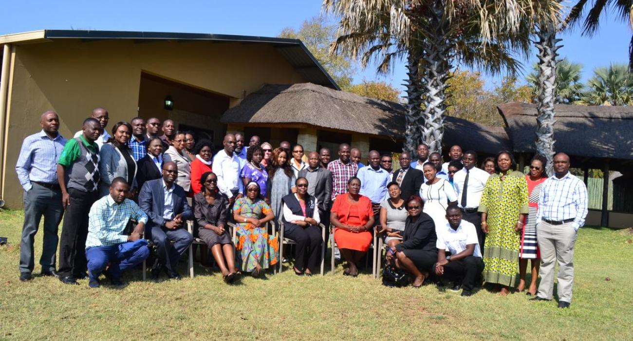 Participants at the meeting in Livingstone