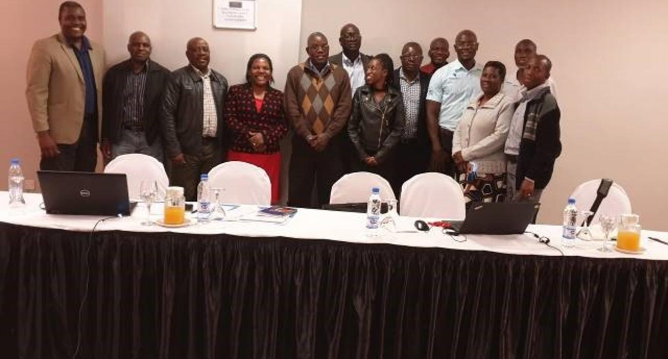 The AFRO 11 National Steering Committee
