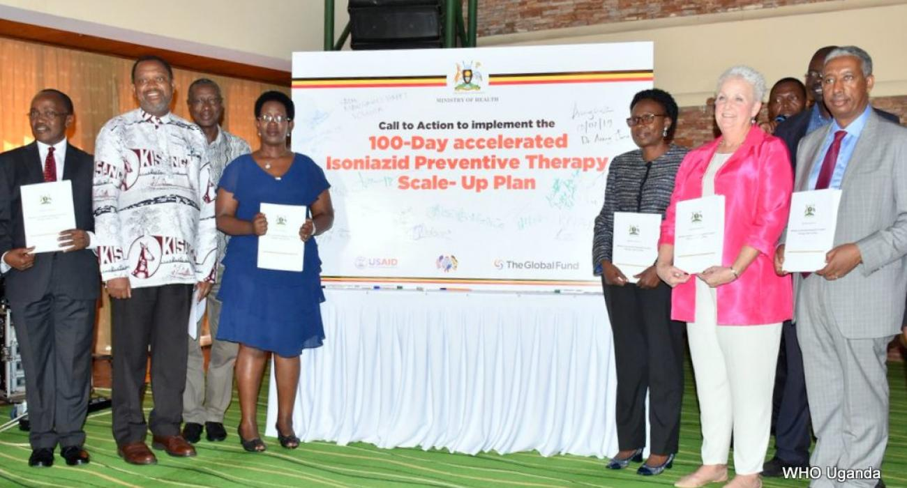 Launch of Scale-up Plan for Tuberculosis Preventive Treatment