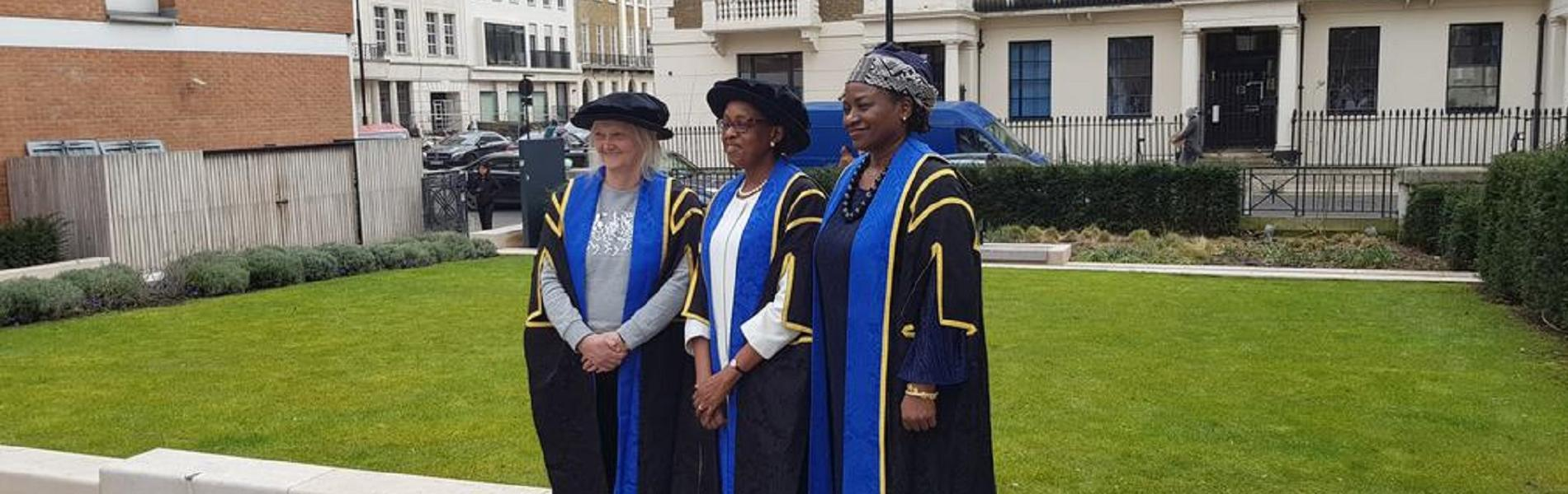 Dr Moeti Matshidiso was awarded the Honorary Fellowship of the London School of Hygiene and Tropical Medicine