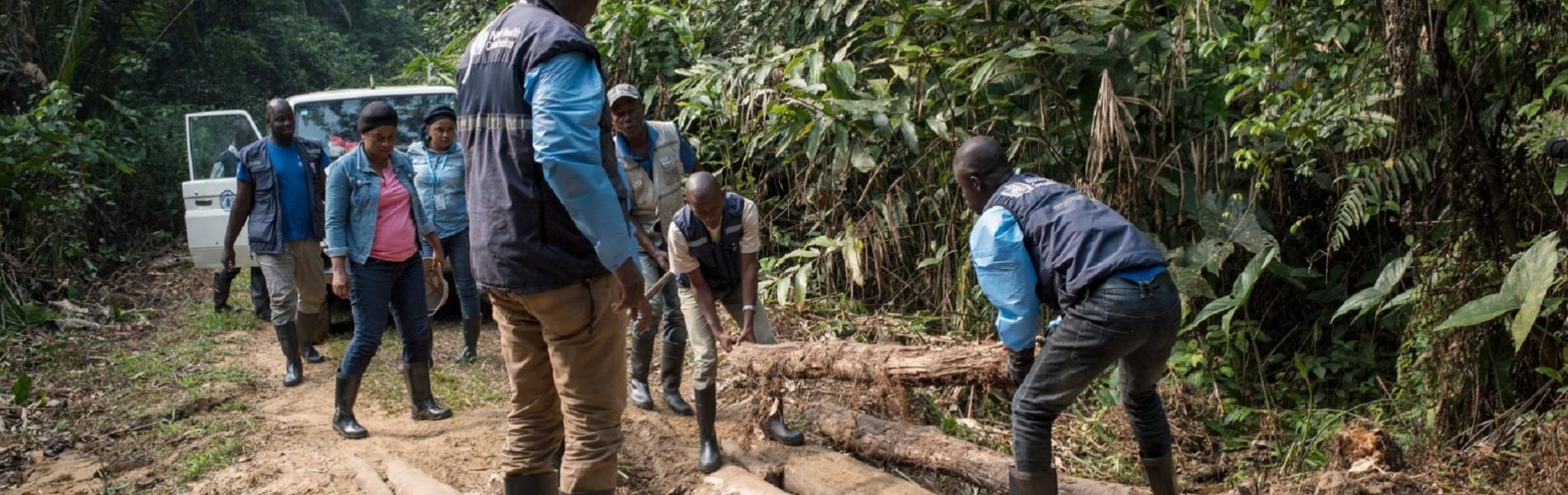 Bringing Ebola vaccine to remote communities in the Democratic Republic of Congo