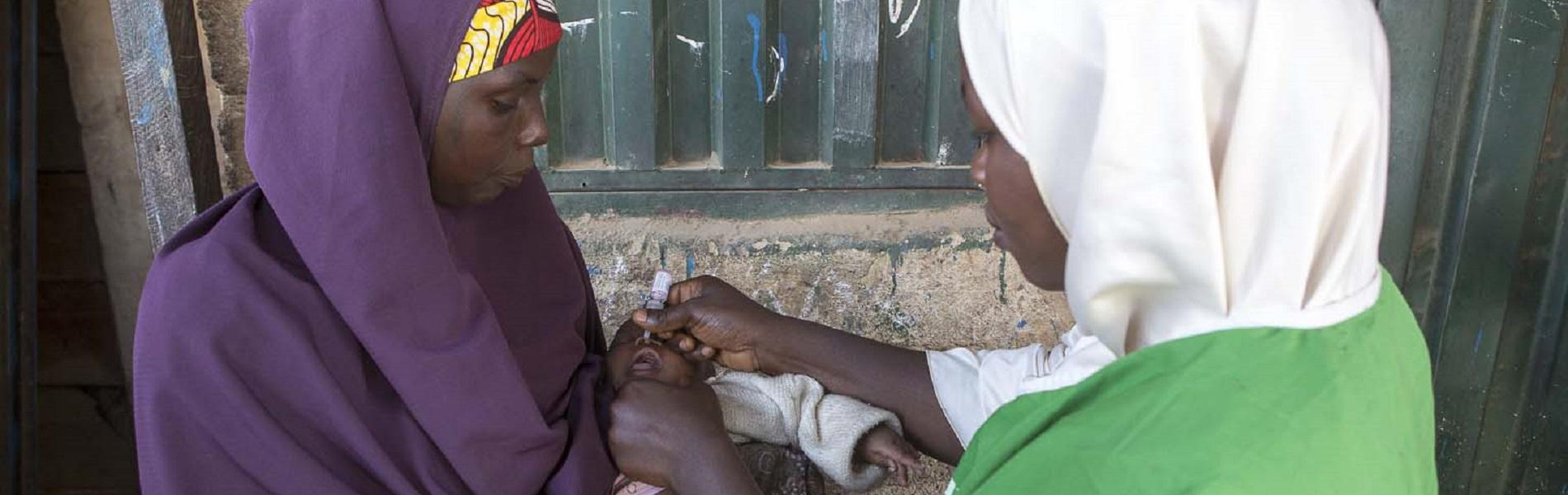 Frontline workers in Nigeria break down gender related barriers to reach children with vaccines