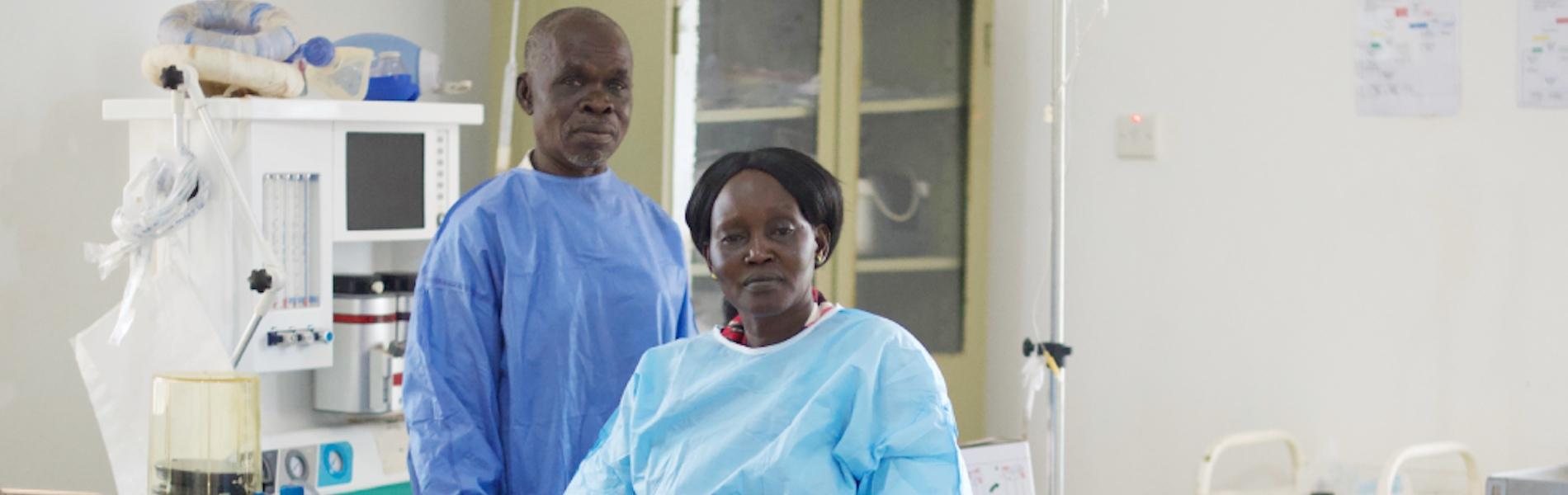 Dynamic staff and sparkling maternity complex deliver improved maternal health in South Sudan