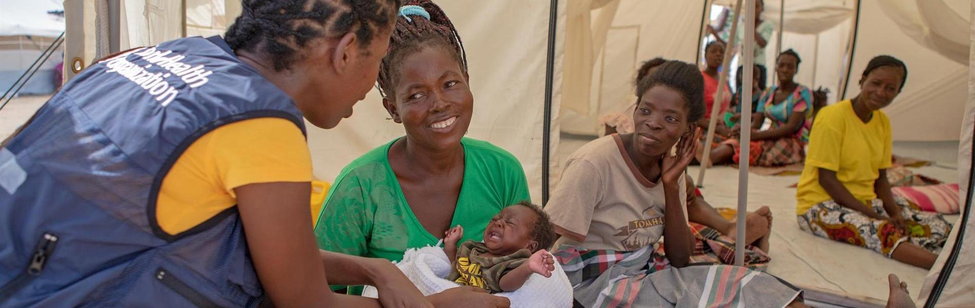 Breastfeeding is critical for child survival following cyclones in Mozambique