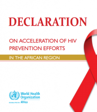 Declaration on Acceleration of HIV Prevention efforts in the African Region