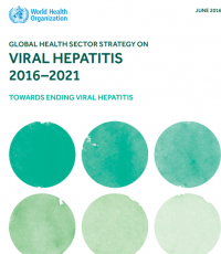 Global health sector strategy on viral hepatitis, 2016-2021